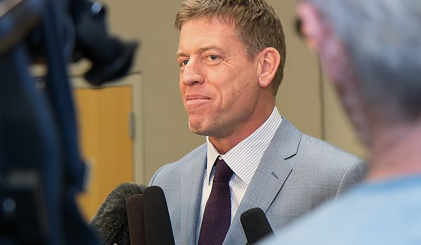 JUST IN: Troy Aikman Dissolves His Foundation And Redirects Funds To United Way Campaign