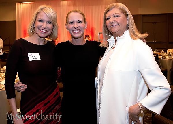 Susan Hawk, Suzy Favor Hamilton and Barbara Farmer