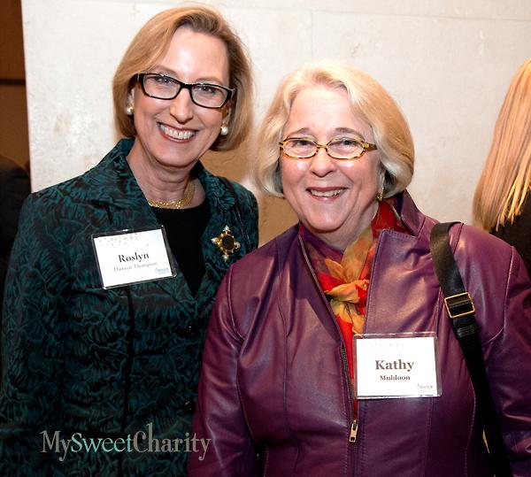 Roslyn Dawson and Kathy Muldoon