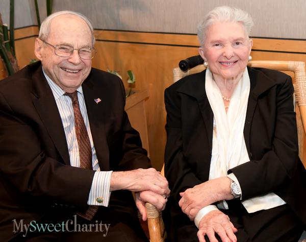 Bob Brackbill and Caroline Rose Hunt
