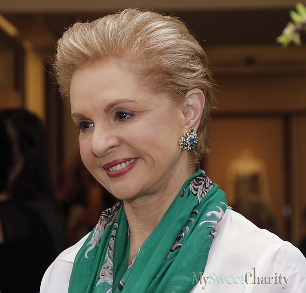 JUST IN: World-Renowned Designer Carolina Herrera's Bringing Her Collection To 2016 Crystal Charity Ball Fashion Show And Luncheon