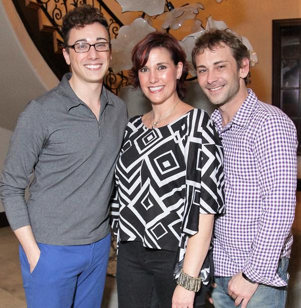 Dylan Orrell, Sara Fangmeyer and Chris Huffstutler*