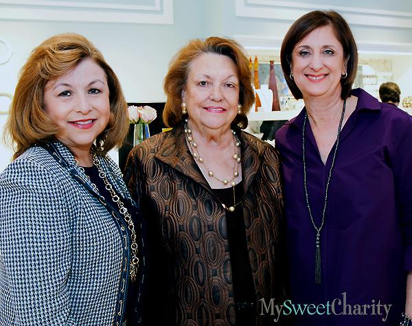 Regina Montoya, Cynthia Melnick and Sara Melnick Albert
