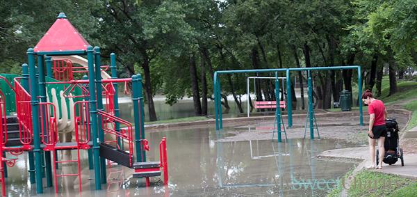 2015 flooded playground