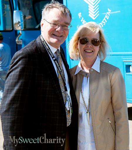 David Krause and Christie Carter