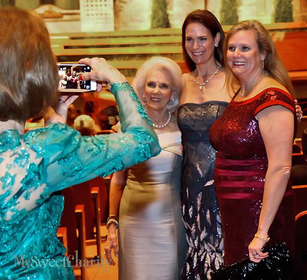Marilyn Augur, Margaret Hancock and Ann Hardaway