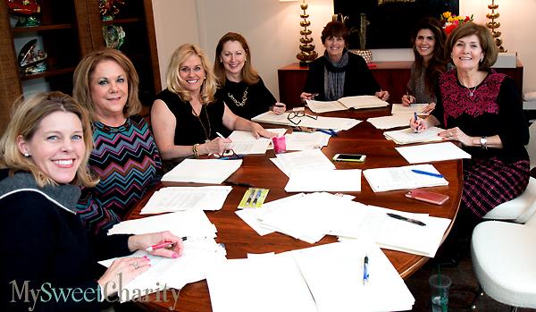 Michaela Dyer, Beth Layton, Anne Dyer, Linda Secrest, Pam MCallum, Marisa Huckin and Vicky Lattner