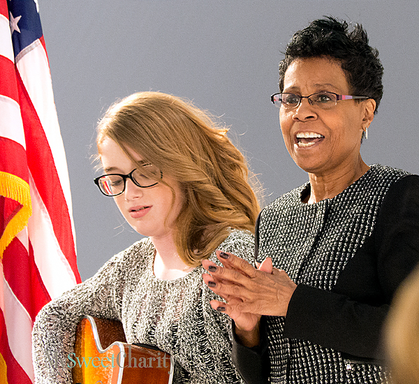 Madelyn Farquhar and Evelyn Earl