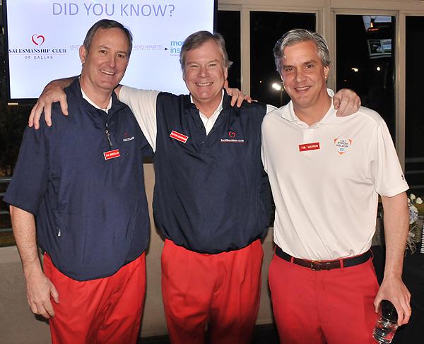 Tim Costello, Patton Chapman and Tim Marron*
