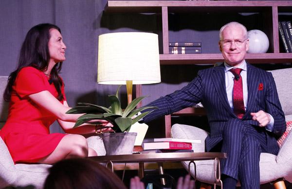 Kimberly Schlegel Whitman and Tim Gunn*