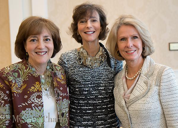 Janie McGarr, Nancy Halbreich and Gail Turner