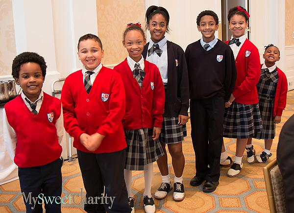 St. Philip's students