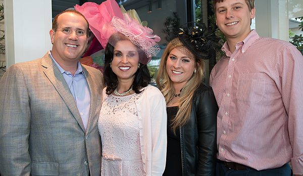 Lee Park Junior Conservancy Friends Tried On Chapeaus And Adult Beverages Prepping For 8th Annual Day At The Races