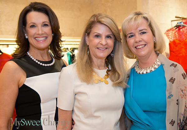 Pam Perella, Caren Kline and Christie Carter