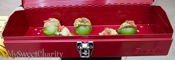 Appetizers in toolbox