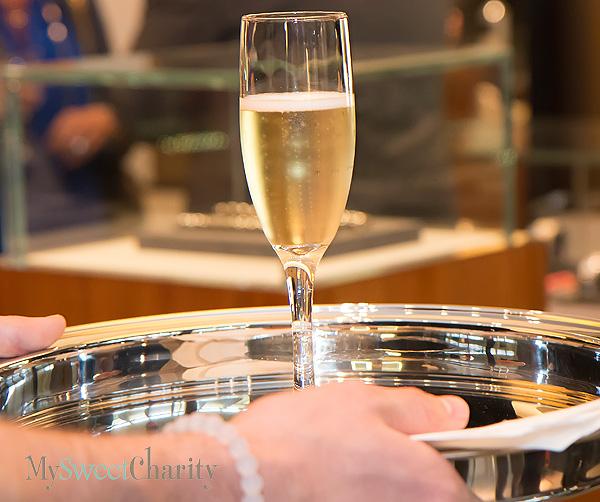 Yurman flute of champagne