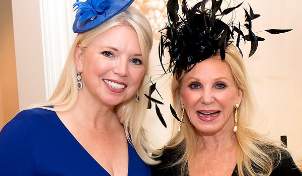 Mad Hatter's Fashion Show And Luncheon Patron Party At Betsy And Guinn Crousen's Mansion Was An Over-The-Top Draw