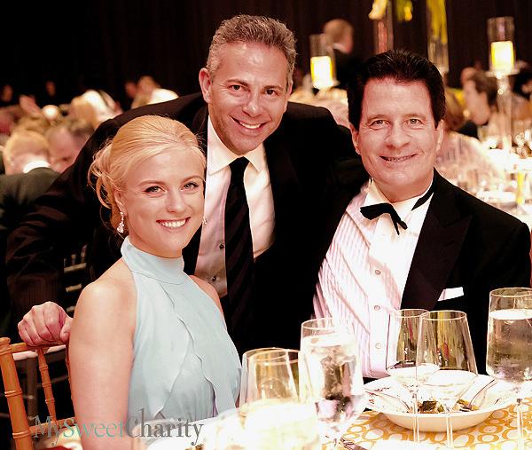 Olya Sinitsyna, David Weinreb and Andy