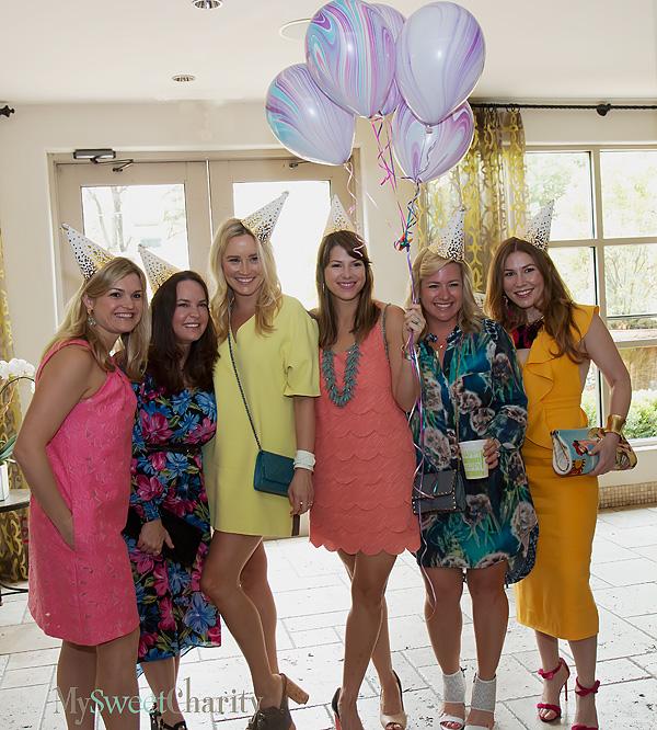 Meredith Ferrell, Meg Florence, Adriane Crosland, Destin Shore, Megan Filgo and Katherine Harper