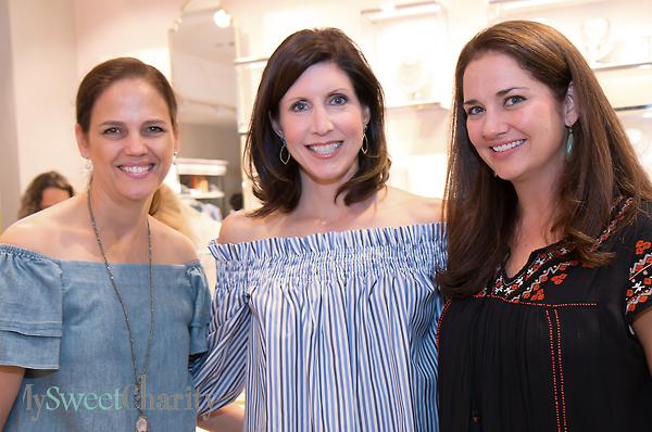 Angie Kadesky, Kara Axley and Bridget Miller