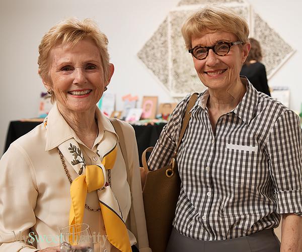 Maria Johnston and Sally Posey