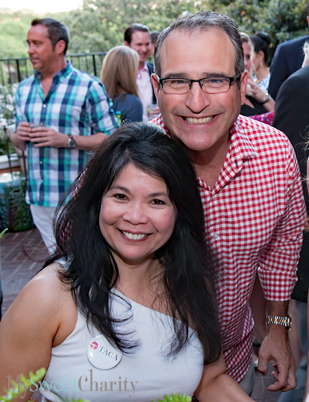 Nancy Gopez and Paul Divis
