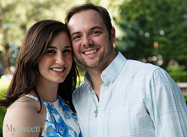 Bethany Voss and Mike Rials
