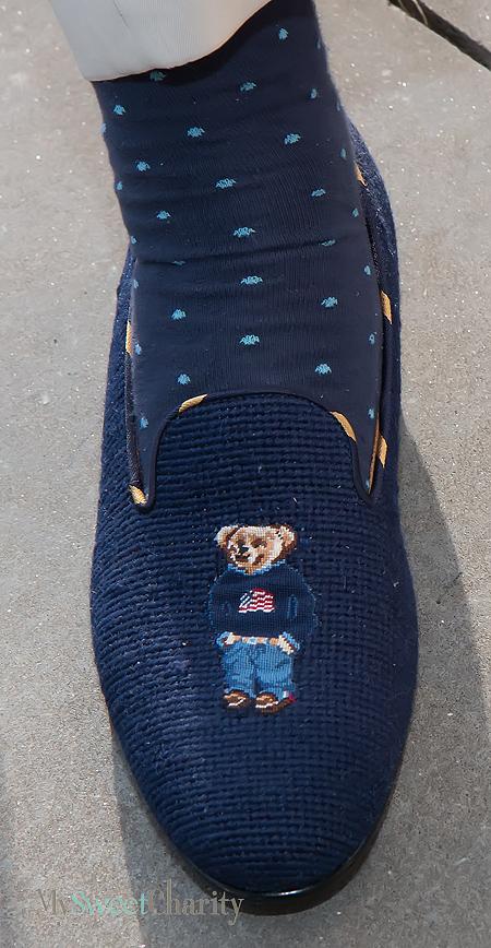 John Lemak's slipper