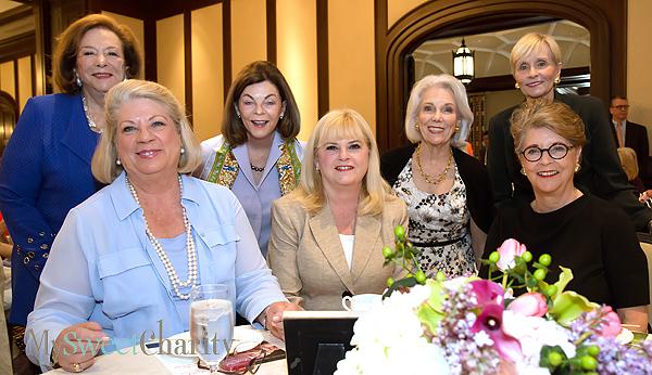 Jane Pierce, Randall Halsell, Barbara Stuart, Linda Perryman Evans, Marilyn, Augur, Carol Seay and Linda McFarland
