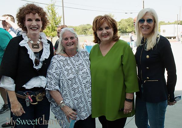 Sarah Losinger, Janier Bush, Veletta Lill and Katherine Wynne
