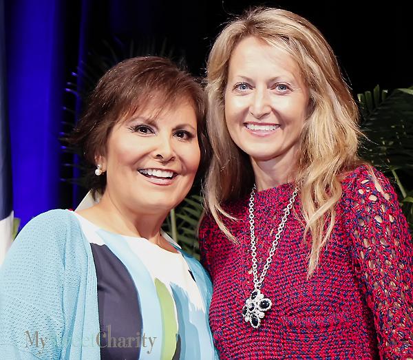 Gloria Campos and Lynn McBee (File photo)