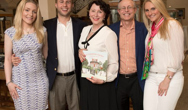 "Brenda West Cockerell Launches ""In Grandma's Garden"" With Book Signing At De Boulle"