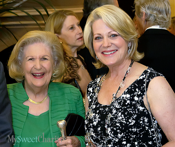 Lindalyn Adams and Louise Griffeth (File photo)