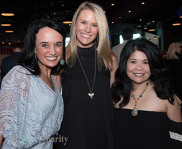 Joanna Clarke, Heather Randall and Nancy Gopez