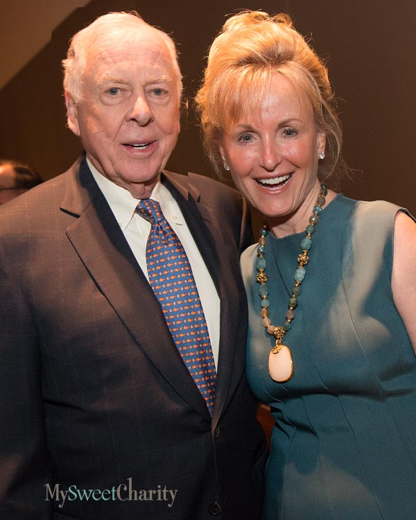 Boone and Toni Pickens