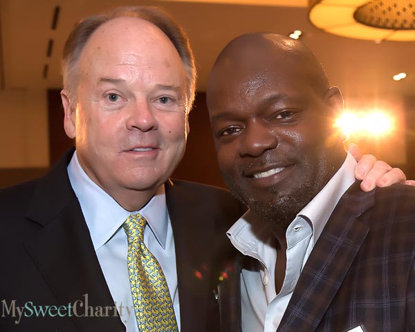 Barry Andrews and Emmitt Smith