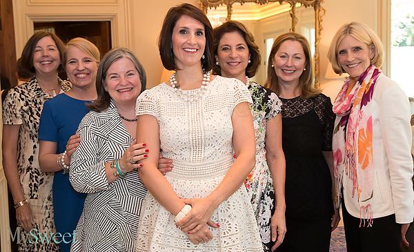 Janet Quisenberry, Sandy Ammons, Paula Davis, Isabell Novakov, Lydia Novakov, Linda Secrest and Connie ONeill
