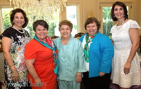Lydia Novakov, Roxann Vyazmensky, Lena Baca, Joyce Lacerte and Isabell Novakov