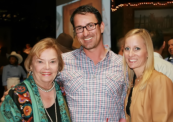 Linda Teague, Kenny and Melissa Wolfe*