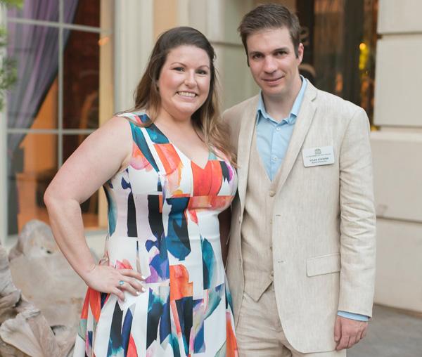 Camille Cain Barnes and Tyler Stevens*