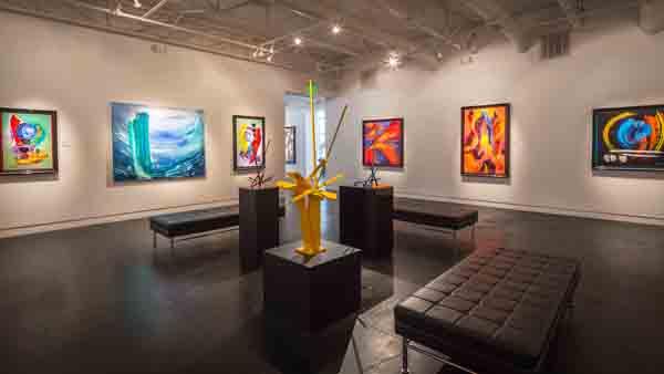 TACA Custom Auction Gala Package #5: Live Painting At Samuel Lynne Galleries
