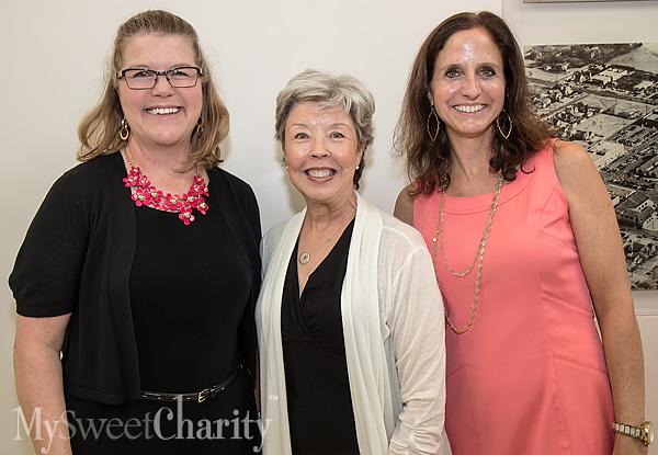 Amanda Davison, Susan Morgan and Lori Bannon