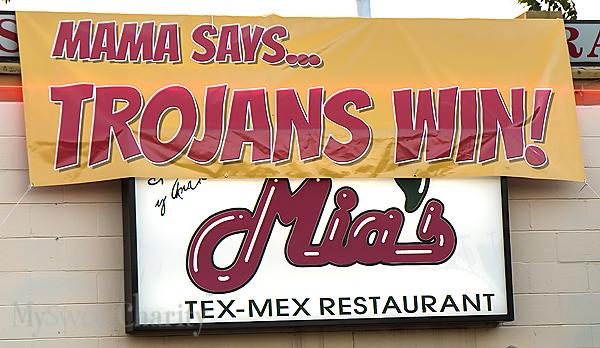 Trojans at Mia's