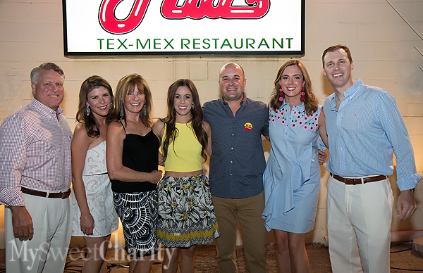 Curtis Good, Natalie Shaw, Jennifer Good, Elyse and Zach Smith, Lauren Chapman and Daniel Pike
