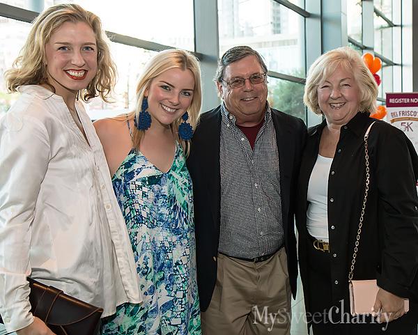 Emilie Gioia, Jane Rozelle and Bob and Kathleen Rozelle
