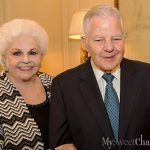Les Femmes Du Monde Party At Joyce And Larry Lacertes Even Got Co-Honoree Couple Of The Year Herbert Hunt Smiling