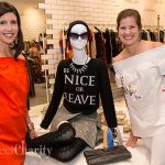 Equest Women's Auxiliary Shopped And Partied Among The Luscious Lips And Fashions Of Alice And Olivia