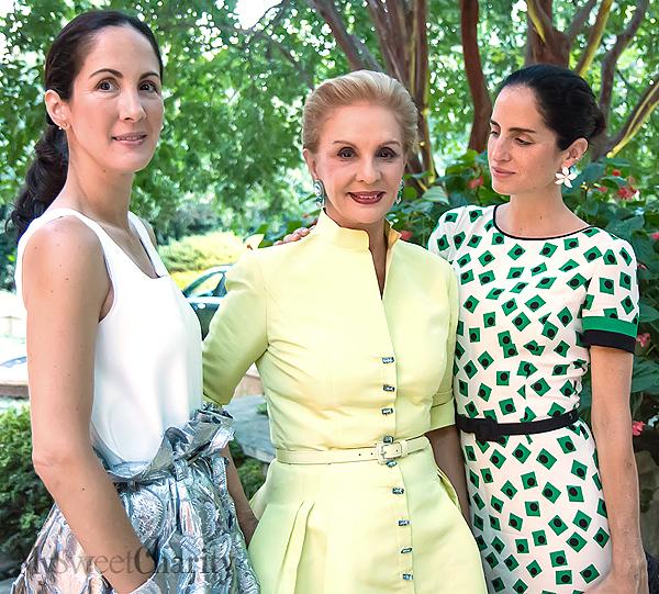 Patricia Herrera Lansing, Carolina Herrera and Carolina Herrera Baez