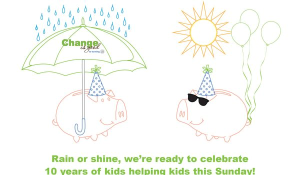 "Come Rain Or Shine, Sunday's ""Change Is Good"" Is On"