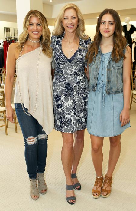 Holly Pellham Davis, Rhonda Sargent Chambers and Landry Davis*